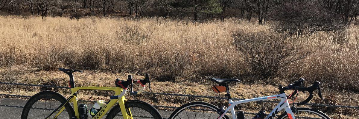 12月初旬に榛名山行ってヒルクライムしてきた。