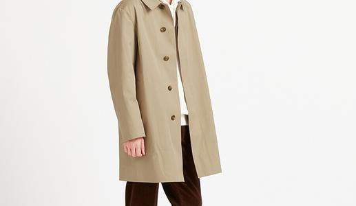ブロックテックステンカラーコートを着てみた感想レビュー【真冬でも大丈夫?】